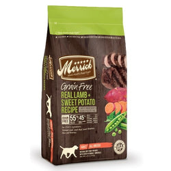 Merrick Grain Free Real Lamb & Sweet Potato Dry Dog Food - Push Pets Singapore