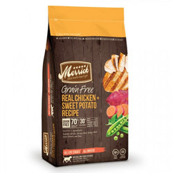 Merrick Grain Free Real Chicken & Sweet Potato Dry Dog Food - Push Pets Singapore
