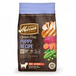 Merrick Grain Free Puppy Dry Food - Push Pets Singapore