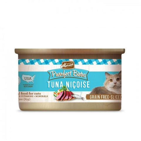 Merrick Purrfect Bistro Grain Free Tuna Nicoise Canned Cat Food - Push Pets Singapore