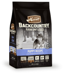 Merrick Backcountry Raw Infused Grain Free Puppy Dry Dog Food - Push Pets Singapore