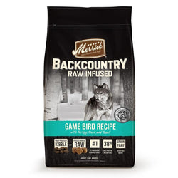 Merrick Backcountry Raw Infused Grain Free Game Bird Dry Dog Food - Push Pets Singapore