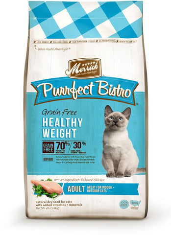 Merrick Purrfect Bistro Healthy Weight Dry Cat Food - Push Pets Singapore