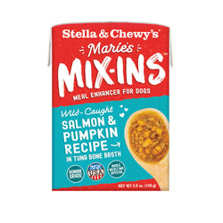 Stella & Chewy's Marie's Mix-Ins Salmon & Pumpkin Wet Dog Food Mixer