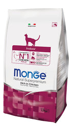 Monge Indoor Dry Cat Food 1.5kg