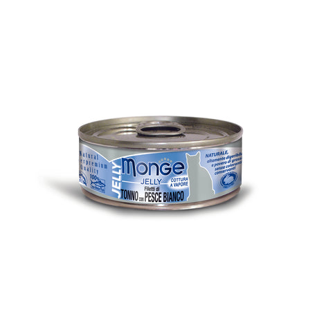 Monge Jelly Yellowfin Tuna With Seabream Cat Food