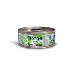 Monge Jelly Yellowfin Tuna With Surimi Cat Food