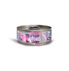 Monge Jelly Yellowfin Tuna With Whitebait Cat Food