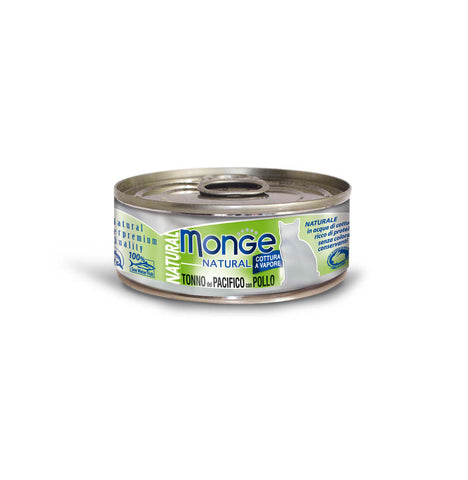 Monge Natural Yellowfin Tuna With Chicken Cat Food