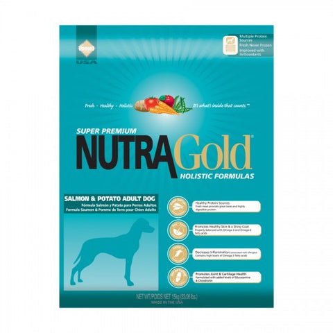 Nutragold Holistic Salmon and Potato Adult Dry Dog Formula - Push Pets Singapore