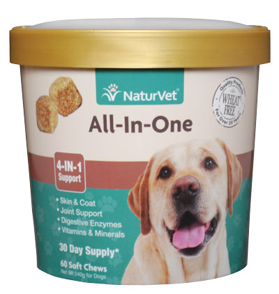 NaturVet All-in-One Soft Chew Cup