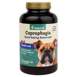 NaturVet Coprophagia Stool Eating Deterrent Chewable Tablets