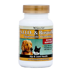NaturVet S.O.D and Boswellia Tablets - Push Pets Singapore