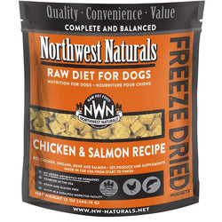 Northwest Naturals Chicken & Salmon Freeze Dried Nuggets 12oz