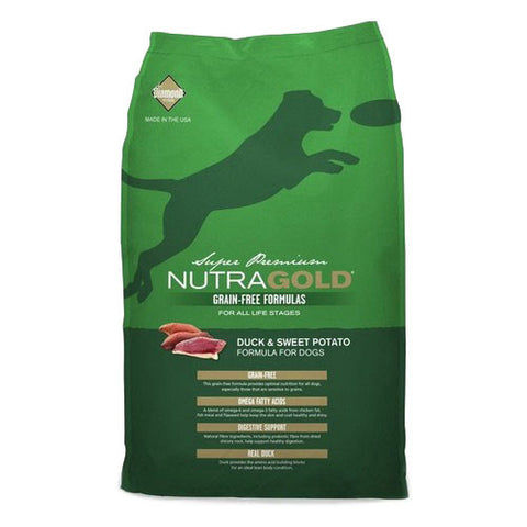 Nutragold Grain Free Duck and Sweet Potato Dry Dog Food - Push Pets Singapore