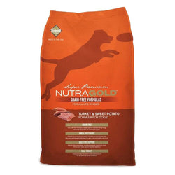 Nutragold Grain Free Turkey and Sweet Potato Dry Dog Food - Push Pets Singapore
