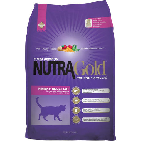 Nutragold Holistic Finicky Adult Dry Cat Formula