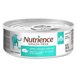 Nutrience Grain Free Cat Turkey, Chicken & Duck Pate 156g