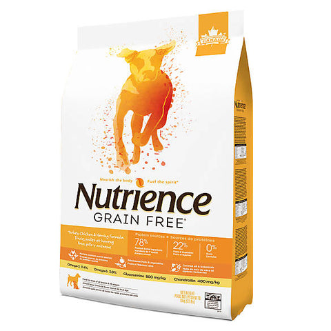 Nutrience Grain Free Dog Turkey, Chicken & Herring