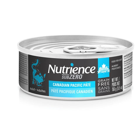 Nutrience Grain Free Sub Zero Cat Canadian Pacific Pate 156g