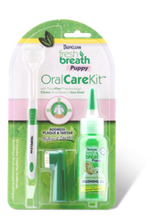 Tropiclean Oral Care Dental Kit for Puppies - Push Pets Singapore