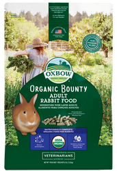 Oxbow Organic Bounty Adult Rabbit Food 3lbs