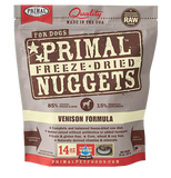 Primal Freeze-Dried Venison Nuggets for Dogs