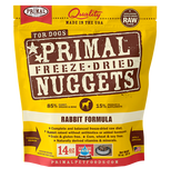 Primal Freeze-Dried Rabbit Nuggets for Dogs