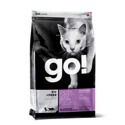 Petcurean Go! Fit + Free Chicken, Turkey and Duck Dry Cat Food - Push Pets Singapore