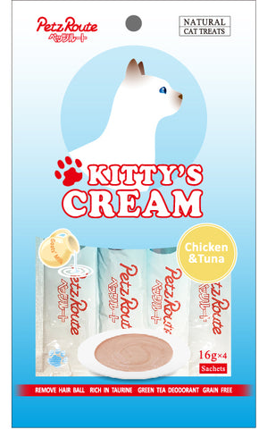 Petz Route Kitty's Cream - Chicken & Tuna