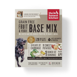 15% OFF + FREE GIFT Honest Kitchen Grain Free Base Mix Vegetables & Fruits Dehydrated Dog Food - Preference