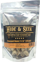 Hide & Seek Natural Pressed Dog Bone