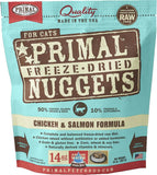 Primal Freeze-Dried Chicken & Salmon Formula for Cats