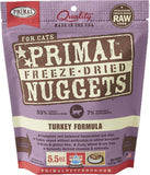 Primal Freeze-Dried Turkey Formula for Cats