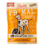 Primal Treats Dry Roasted Venison Lung Snaps
