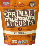 Primal Freeze-Dried Beef Nuggets for Dogs