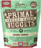 Primal Freeze-Dried Chicken Nuggets for Dogs