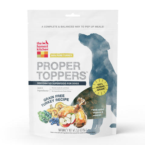 Honest Kitchen Proper Toppers Superfood - Turkey