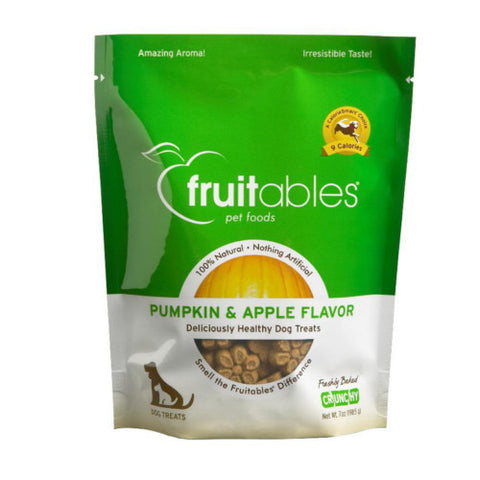 Fruitables Pumpkin & Apple Dog Treats - Push Pets Singapore