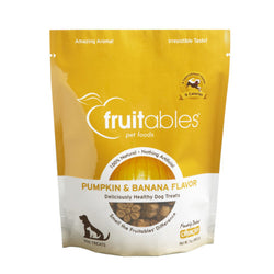 Fruitables Pumpkin & Banana Dog Treats - Push Pets Singapore