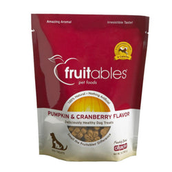 Fruitables Pumpkin & Cranberry Dog Treats - Push Pets Singapore