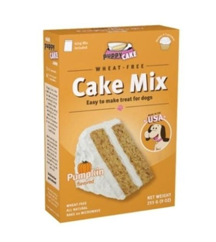 Puppy Cake Microwaveable Mix Pumpkin Flavored For Dogs