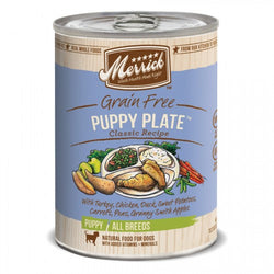 Merrick Grain Free Puppy Plate Canned Dog Formula