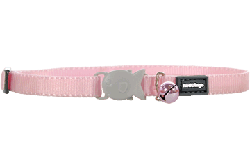 Red Dingo Cat Classic Safety Collars Pink