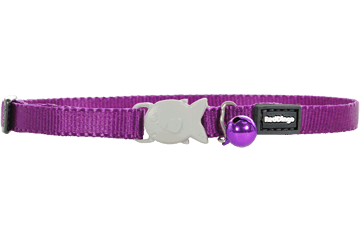Red Dingo Cat Classic Safety Collars Purple