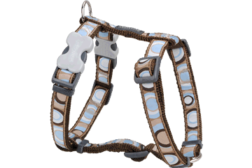 Red Dingo Circadelic Brown Harness