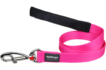 Red Dingo Classic Lead Hot Pink