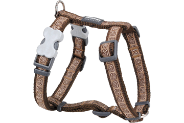 Red Dingo Hypno Brown Harness