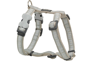 Red Dingo Hypno Grey Harness
