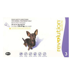 Revolution: For Extra Small Dogs (2.5 - 5kg) - Push Pets Singapore